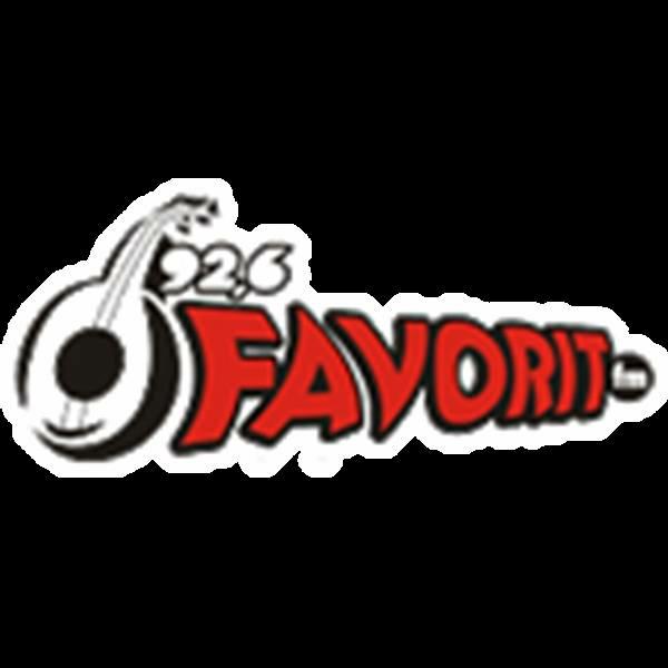 Radio Favorit 92.6 FM Radio Logo