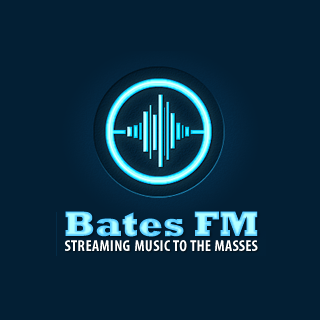 Bates FM - 90s Mix Radio Logo