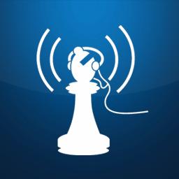 105.9 fm Bishop Radio Logo